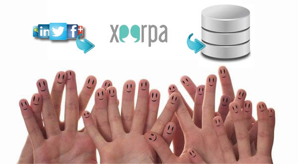 Xeerpa complements your CRM with social data