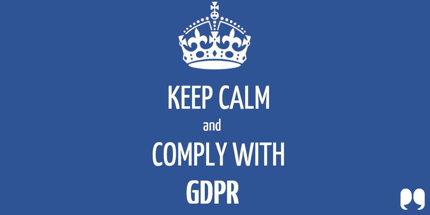 От къде да подхванете съвместимостта с GDPR?