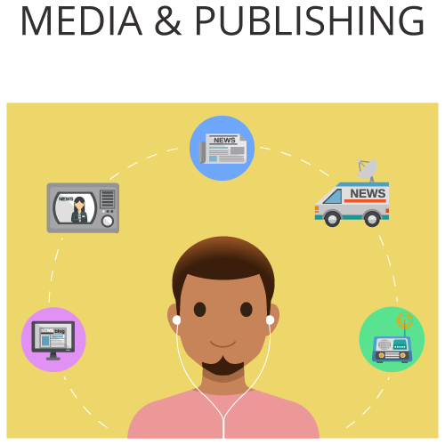 Xeerpa in Media and Publishing