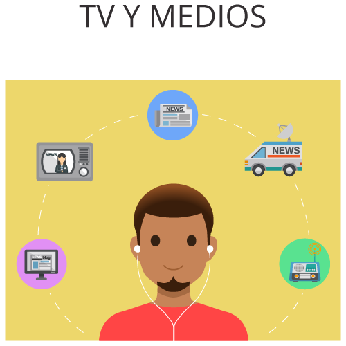 Xeerpa en TV y Medios